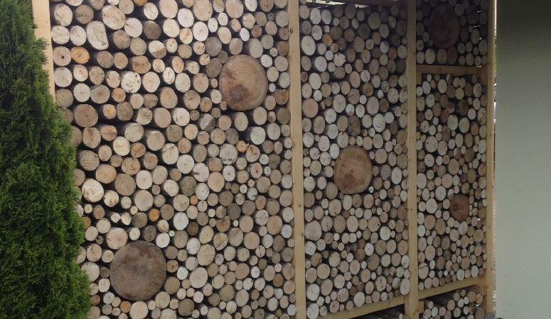 Holzwände / Sicht- und Windschutz