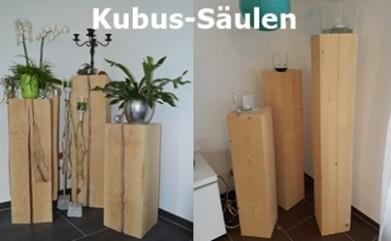 Kubus-Säulen